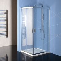 Polysan EASY LINE obdélníková sprchová zástěna, čiré sklo