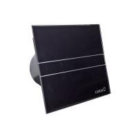 E-100 GBT koupelnový ventilátor axiální s časovačem, 8W, potrubí 100mm, černá