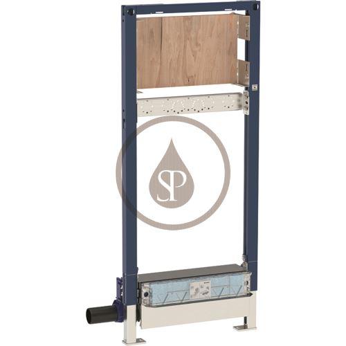 Geberit Duofix Montážní prvek pro sprchu, 130 cm, s odtokem ve stěně, nástěnná armatura pod omítku, pro výšku mazaniny u vtoku 90–200 mm