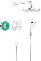 Hansgrohe Croma Select E Sprchový set 180 s termostatem Ecostat E, 2 proudy, chrom