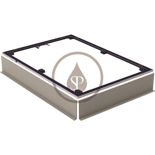 Geberit Setaplano Instalační rám pro sprchové vaničky, 800x1500 mm, pro 6 nohou