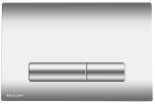 Tlačítko k WC AURRO chrom