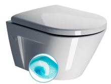 NORM WC závěsné, splachování SWIRLFLUSH, 50x36 cm