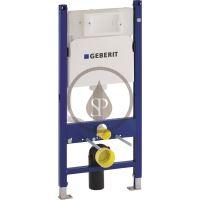 Geberit Duofix Montážní prvek Basic pro závěsné WC, 112 cm, splachovací nádržka pod omítku Delta 12 cm