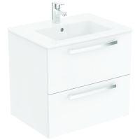 Ideal Standard Tempo Skříňka pod umyvadlo 600x440x550 mm, lesklá bílá