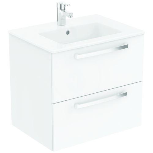 Ideal Standard Tempo Skříňka pod umyvadlo 600x440x550 mm, lesklý lak bílý
