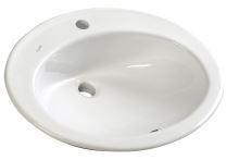 TROPICO keramické umyvadlo 58x46cm, zápustné