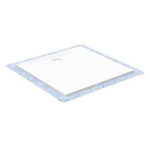 Geberit Setaplano Plochá sprchová vanička, minerální materiál, 800x1500 mm, bílá