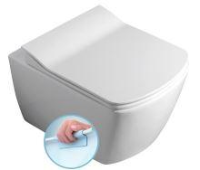 GLANC WC závěsné rimless, 37x51,5 cm