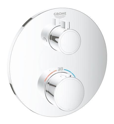 Grohe Grohtherm Termostatická sprchová baterie pro 2 spotřebiče, chrom