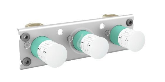 Axor Montážní tělesa Základní těleso pro termostat na stěnu/pod omítku pro 2 spotřebiče